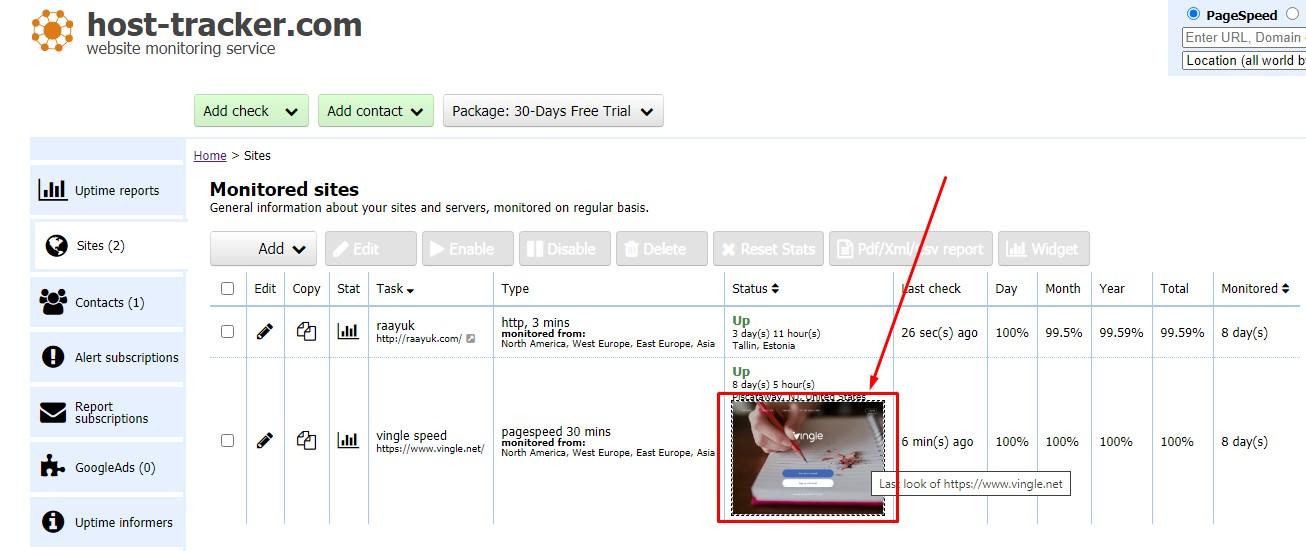 snapshots - a webpage data integrity verification service